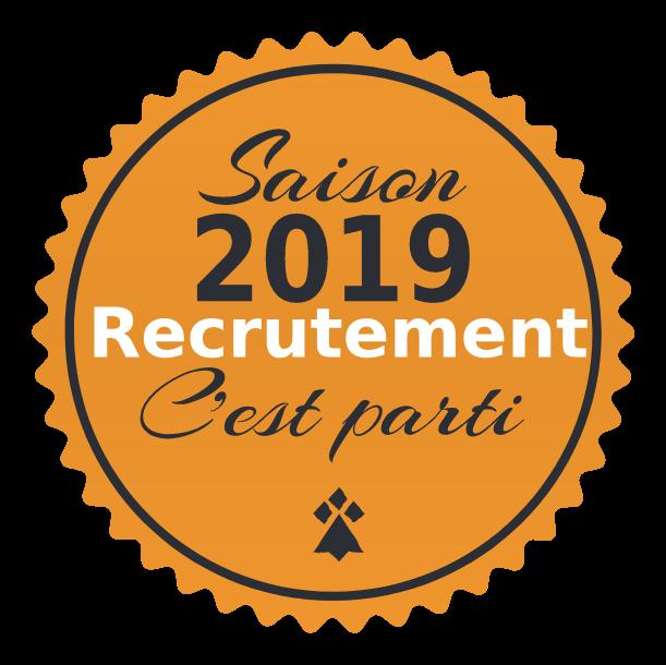 Recrutement 2019